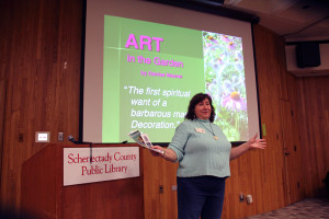 March 14, 2015 meeting at the Schenectady library.  Margo Heck, Chairperson.